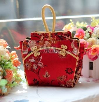 Chinese characteristics Gifts abroad chinese style small gifts unique practical gifts cheongsam women's handbag bridal bag