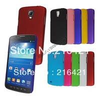 New Rubber Back Hard Case Skin Protective Cover Shell for Samsung Galaxy S4 Active i537 i9295 Mix Color Perfect Fit Free Ship
