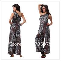 Free Shipping Ruffled sleeveless woman fashion playsuit