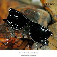 Vintage metal sunglasses women's star style fashion sunglasses male sunglasses