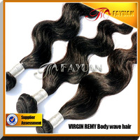 Indian body wave hair, virgin body wave weft, natural color human hair extensions, 2 pieces lot