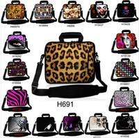 zebra bag women laptop bag one shoulder handbag Waterproof computer bag for 10 12 13 14 15 17 inch tablet free shipping