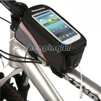 Cycling Bike Bicycle Phone Case Frame Front Tube Bag  4/4S/5 12496S-C5