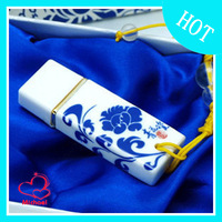 Blue and white porcelain usb flash drive chinese style ceramic 16g Flash Card High Speed
