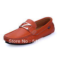 British Hotsale Men's Cow Leather  Slip On Loafer Moccasins Driving Dress Shoes