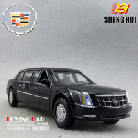 Plain in the lengthen edition cadillac rv alloy WARRIOR car model