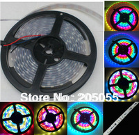 5M 16FT WS2811 IC 30Leds/M Magic Dream Color SMD 5050 RGB LED Strip 150 Light 30pixel/M Waterproof IP67 12V DC