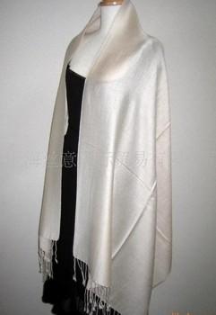 Beige blue HOT Plaid Fashion Scarf 100% Cashmere Pashmina Women's Lady's Shawl Free Shipping SW0038