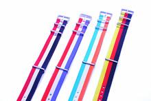 Hot sale 10PCS lots High quality 20MM NATO straps waterproof nylon watch strap 72301