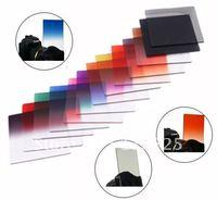 5++ DSLR camera filter 12pcs color filter bokeh photo filter (free 1set lens clean paper + 1pcs wool brush)