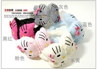 Appropriate 3-11 years old winter lovely children's warm earmuffs with bowknot,5 colors ear muff,wholesale,10pcs/lot