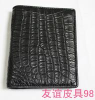 Free shipping Crocodile skin design short wallet ostrich skin wallet python skin wallet sealskin wallet