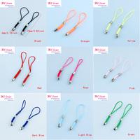 Wholesale 120pcs/Lot 4*72mm 10 Colors Mobil Chains/Mobile Straps/Key Chain Charms Cords DIY/Mobilephone Straps/Mobilephone Chain
