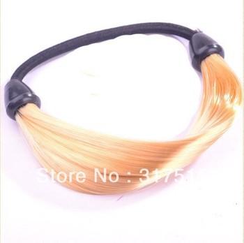Free shipping colorful  DIY 240pcs/lot Wig Hair Ring Hair Bun/ donut Hair Maker Headwear Hair Styling Donut Headband