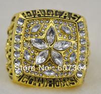 1995 Dallas Cowboys Super Bowl Replica Championship Rings Men Finger