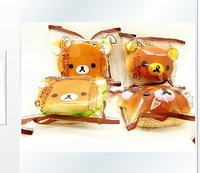 20pcs 9cm rilakkuma head and hamberger squishy