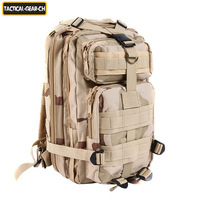 3P tactical backpack travel double-shoulder ride mountaineering backpack TAN digital woodland military combat army bag