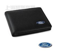 Genuine Leather License Bag For Ford Focus Kuga F150 Fiesta wallet purse notecase Car Logo Gift Free HK post