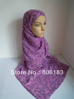 m1872 wholesal cotton soft voile scarf  big size shawl long muslim hijab 20pcs one lot free shipping by EMS or FEDEX