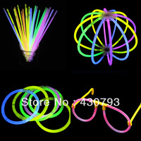 Hotsell Disposable neon stick neon bracelet tape adapter diy neon stick  fluorescent bracelet Party Supplies glow stick