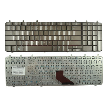 Original Brand New Laptop Keyboard For HP DV7 DV7-1000 Bronze US P/N 500843-001--free shipping