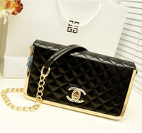 2014 New ..Women's handbag summer new arrival paragraph fashion embroidery shoulder bag chain cross-body wallet