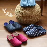 Spring new arrival autumn and winter waterproof wood flooring carpet slippers lovers design at home