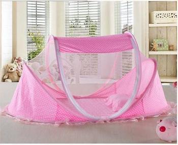 Free shipping 30pcs/lot High Quality Baby Folding Bed Nets Luxury Children Nets Princ Princess Crib Mosquito Net Rocker Nets