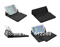 Universal Detachable Wireless Bluetooth with ABS Keyboard Leather Case for 7 inch Android Tablet PC