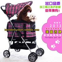 Bestpet pet car pet stroller dog cart pet car seat cushion pet bag  wheelbarrow
