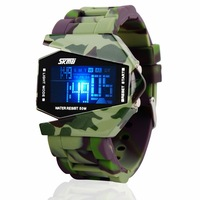 Child watch boy/girl/kids/women/man fashion led multifunctional sports waterproof electronic watch male child student table