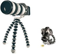 Free shipping Mini Flexible Octopus Tripod Holder Stand for digital Camera for Canon,Nikon DSLR DV Wholesale Price Chrismas Gfit