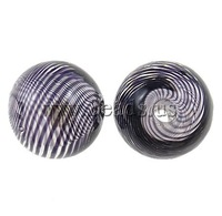 Free shipping!!!Blown Lampwork Beads,High quality, Round, blow, 12mm, Hole:Approx 2mm, 50PCs/Ba Sold By Bag
