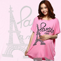 Spring and summer maternity t-shirt maternity short-sleeve T-shirt basic maternity short-sleeve shirt  -108