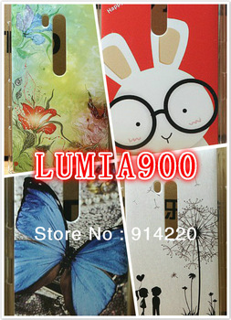 2013 New Super Computer Painted Matte Mobile Phone Protective Shell Cases Phone Cases For Lumia 900