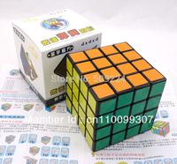 Shengshou 4x4x4 Speed Cube Speed Puzzle Magic Cube Speed Toy Black