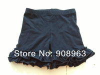 2013 summer New arrival  Free shipping  wholesale  kid 's  cute black summer shorts10 pcs /lot