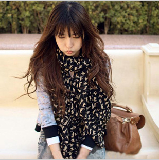 2013 scarf duomaomao sexy small georgette silk scarf spring and autumn summer women's cape xf06