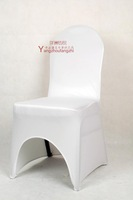 Elastic chair cover white chair cover dining chair set back cover plus size thickening