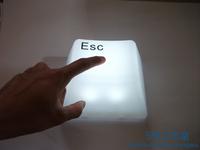 Free  shipping Led energy saving lamp bed-lighting button lights small night light christmas birthday gift child gift