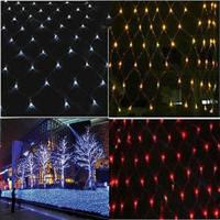 1.5x 1.5m 120 LED Net String Light Lamp For Christmas Party Wedding 220V 3 Colors