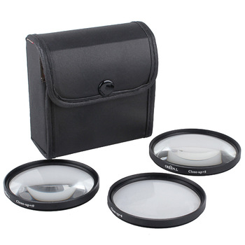 67mm 67 mm Macro Close Up Filter Kit +4 +8 +10 with filter case bag For Canon Nikon Cameras