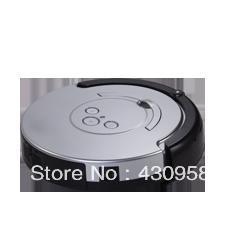 with side brush,Silver-gray color,Pre-setting the cleaning time,Cleanmate HX12  Mini Robotic vacuum cleaner ,AUTO recharge