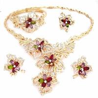 african big jewelry set  18k 2014 new  design jewelry wedding jewelry set party jewelry set