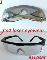 Co2 laser safety goggle (10600nm)  two frames for option, O.D 4+, Meet EN207:1998 + A1:2002