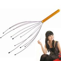 Head Scalp Neck Handy Massager Massager Headache Stress Relieve Tension XZY0103 drop shipping free shipping