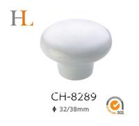 10pcs 38mm white ceramic knob