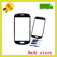 100% NEW Blue TOUCH LENS SCREEN DIGITIZER GLASS For SAMSUNG GALAXY S3 MINI GT i8190