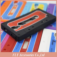 10pcs/lot Free shipping Retro iTape Deck Cassette Tape Back Case Cover Skin For Samsung Galaxy S IV S4 I9500 Soft Silicone