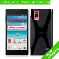High Quality X Line Wave Gel Case Cover For LG Optimus GJ E975W Free Shipping UPS DHL EMS HKPAM CPAM